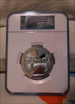 2011 Chickasaw 5 Oz America The Beautiful .999 Silver Bullion Coin NGC MS69 DPL