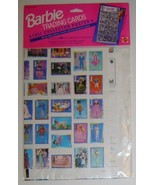 BARBIE Trading Cards 1991 COLLECTOR POSTER - UNUSED! - $8.00