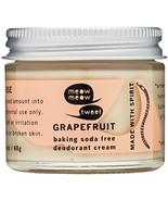 Meow Meow Tweet, Baking Soda Free Grapefruit Deodorant Cream, 2.4 oz. - $29.00