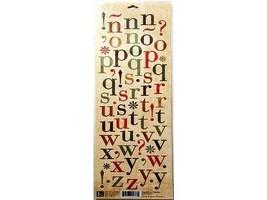 K&Company Die-Cut Alphabet Stickers #553774 image 2