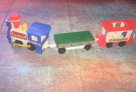 1987 fisher price express little people train VTG TOYS 2+ horn toots! - $39.99