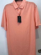 Oxford Dri Release Papaya punch Golf Polo NWT  - $19.95