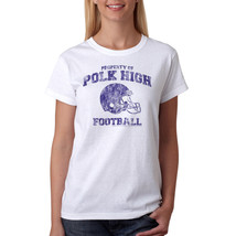 Married With Children Polk High Sports Women's White T-shirt NEW Sizes S... - $19.34+
