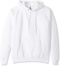 Hanes Men's Pullover EcoSmart Fleece Hooded Sweatshirt white 2XL -2 Pack - $39.24