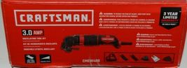 Craftsman CMEW400 3.0 AMP Oscillating Tool Kit Corded Red Black New in Box image 5