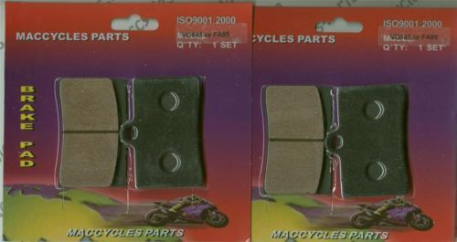 Moto-Guzzi Disc Brake Pads EV1100 California 1997 Front (2 sets)