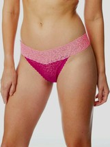 No Boundaries Women's All Lace Thong Panties Size 3XL (10) Purple & Pink... - $10.89