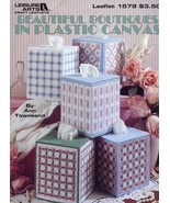 Beautiful Boutiques Tissue Covers Plastic Canvas Pattern Booklet - $3.57