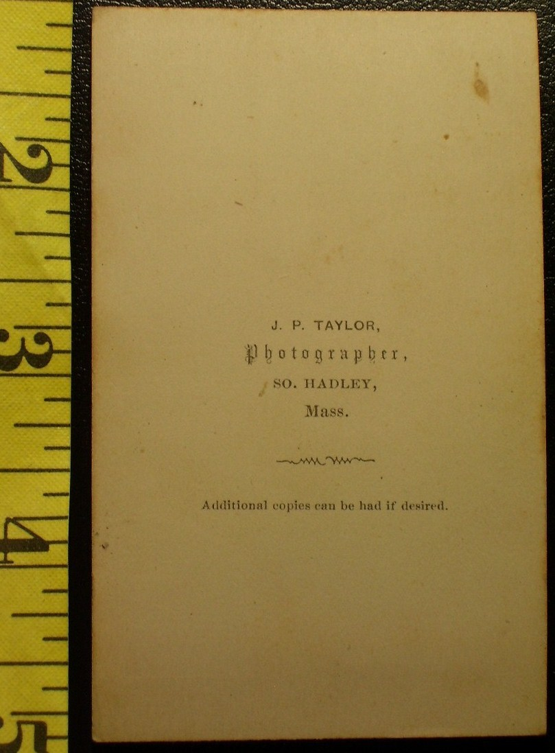 CDV Carte De Viste Photo Pretty Teen Girl Vignette! c.1859-8