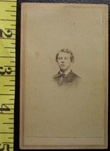 CDV Carte De Viste Photo Handsome Teen! c.1859-80 - $3.20