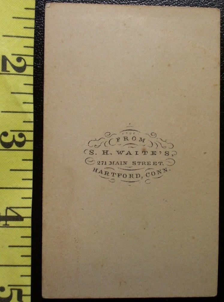 CDV Carte De Viste Photo Handsome Teen! c.1859-80
