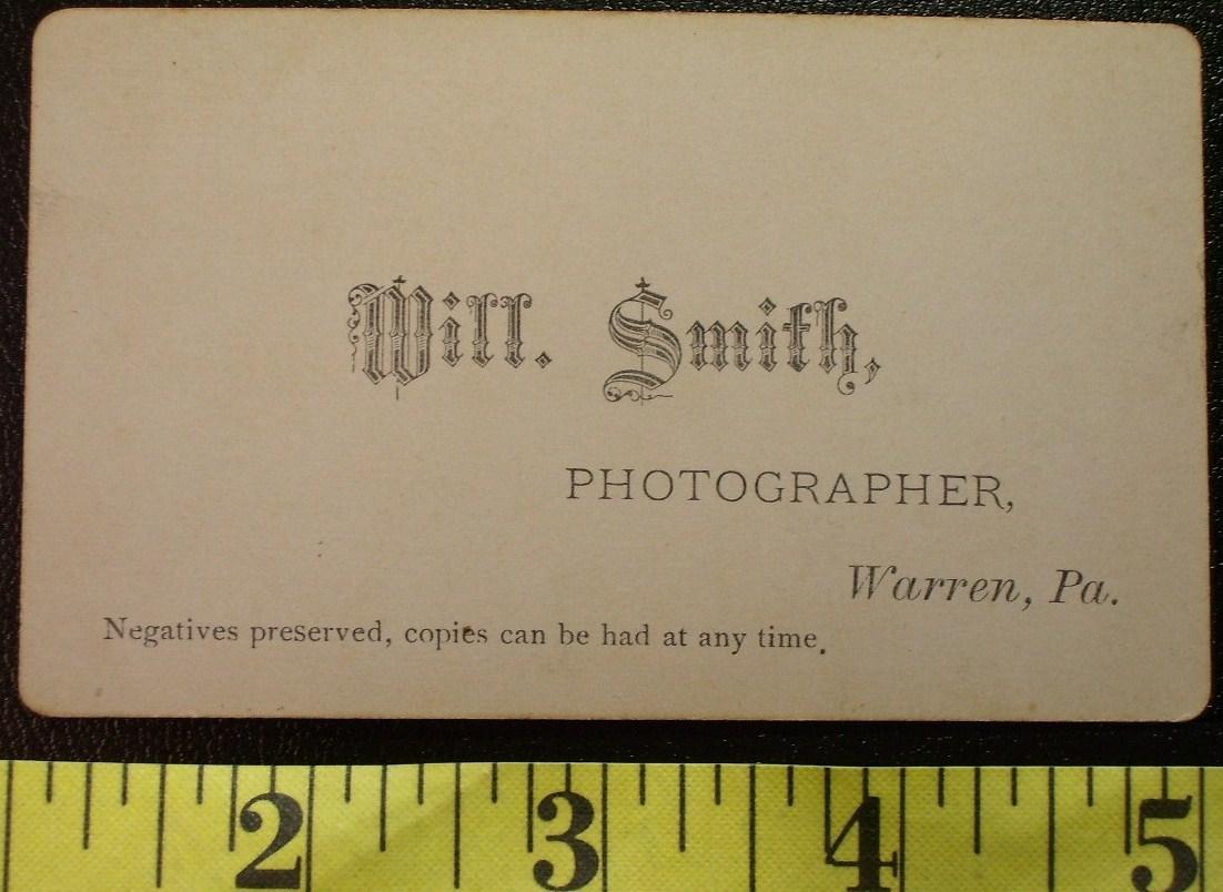 CDV Carte De Viste Photo Young Man Long Tie! c.1859-80