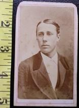 CDV Carte De Viste Photo Dashing Young Man! c.1859-80 - $3.20