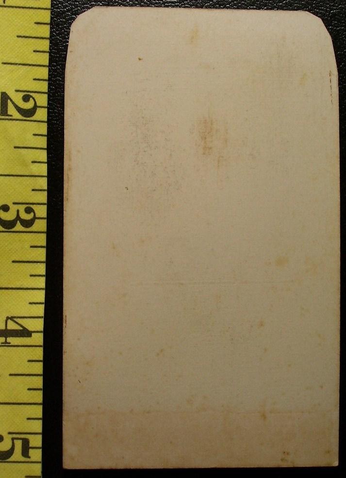 CDV Carte De Viste Photo Dashing Young Man! c.1859-80