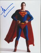 Dean Cain signed color Superman photo. COA. Nice !!  - $31.95
