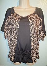 Bcbg - Max Azria - Black - Splatter - Print - Blouse - Top - Shirt - Small - New - $35.99