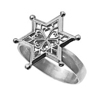 SnowFlake Sterling Silver 925 Snow Flake Frozen Jewelry Ring pick your Size - $30.00