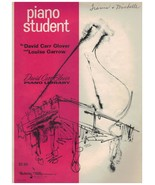 Piano Student ~ Level Two ~ David Carr Glover & Louis Garrow ~ 1967 - $9.85