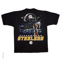 New Pittsburgh Steelers Sky Helmet T Shirt Nfl Licensed Apparel Nwt - $21.99+
