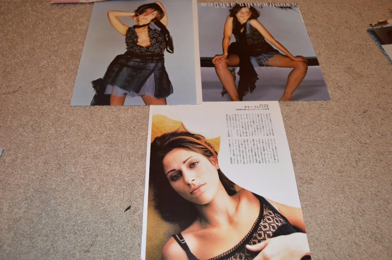 Maggie Gyllenhaal teen magazine pinups clippings Tiger Beat Bop White House Down