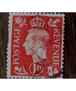 Nice Vintage Used Postage Revenue 1 D Stamp, GOOD COND - 1940's - $2.96