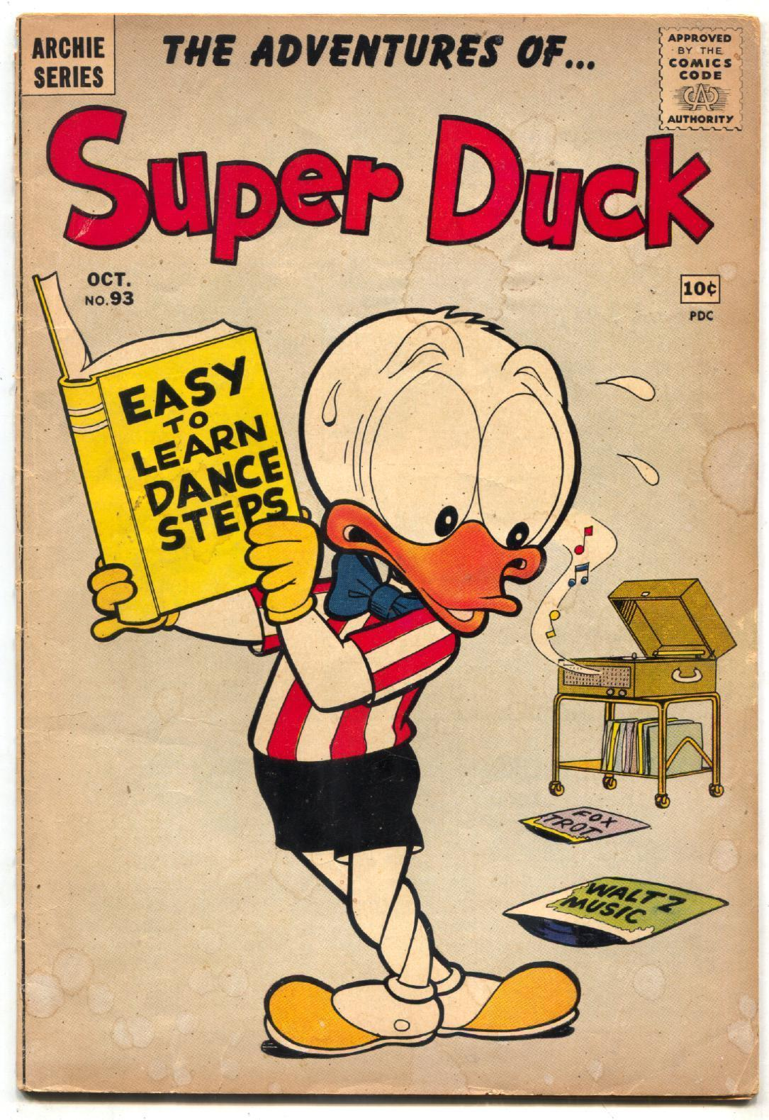 Primary image for Super Duck #93 1960- Archie comics- Li'l Jinx VG-