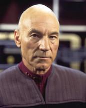 Patrick Stewart As Picard 16X20 Canvas Giclee - $69.99