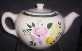 STANGL FRUIT AND FLOWERS TEAPOT - $49.95