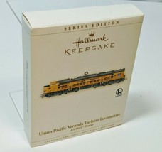 Lionel Union Pacific Veranda Turbine Locomotive Hallmark Keepsake Orname... - $14.20