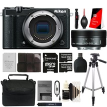 Nikon 1 J5 Mirrorless Digital Camera with 10-30mm f/3.5-5.6 VR Lens and ... - $340.78