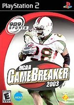 NCAA GameBreaker 2003 Sony PlayStation 2, 2002 Video Game, FREE SHIPPING U.S.A. - $6.64