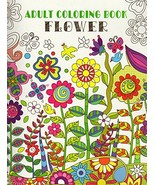 Adult Coloring Book - Flower - v4 [Paperback] Vision ST - $3.99
