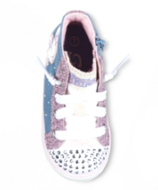 S Sport by Skechers Toddler Girls Pink Raelynn Light-Up Hi-Top Shoes Sneakers image 2