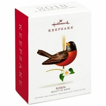 Hallmark Keepsake 2018 Beauty of Birds Robin Christmas Ornament New with... - $11.44