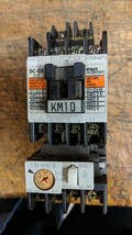 Fuji SC-03 11 AMP CONTACTOR, TR-ON/3 OVERLOAD 2.8-4.2A 220COIL - $34.65