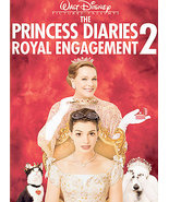 Princess Diaries 2: Royal Engagement DVD, 2004, Full Frame FREE SHIPPING... - $7.67