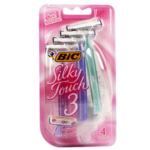 BIC Silky Touch 3 Disposable Shaver, 4-Count - $4.94