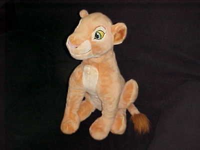 "17"" Nala Plush Stuffed Toy The Lion King The Disney Store Stitch Patch On Foot"