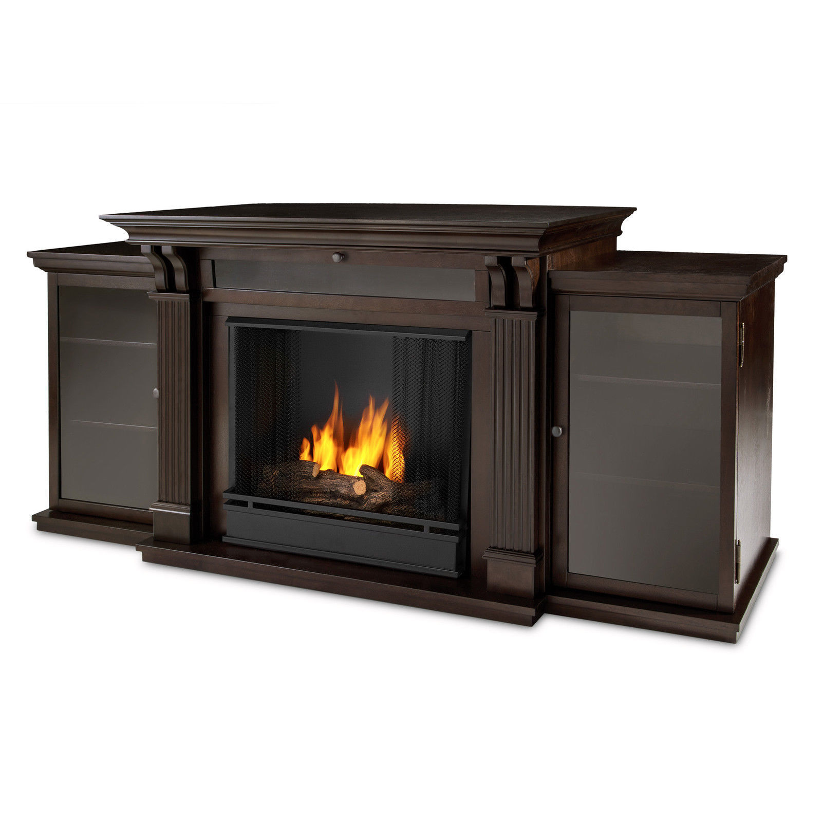 Realflame Calie Gel Fireplace Media Entertainment Center Heater 2 Colors Fireplaces