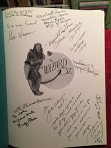 THE WIZARD OF OZ 1st With MUNCHKIN SIGNED with Extra Oz Stuff - $710.50