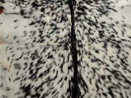 Sale, Goat Leather Rug, Crust Processed Rug, Home Decor Rug, Black & White Rug image 5