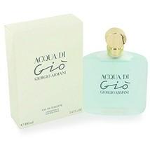 Acqua di Gio by Giorgio Armani for women Eau De Toilette Spray, 3.4 (100... - $107.76