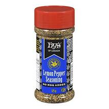 Hy's Lemon Pepper Seasoning No MSG 4 x 125g Canadian  - $59.99