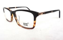 MONTBLANC Men's Optical Frames MB0540-F 056 Black/Havana 58-18-145 ITALY... - $235.00