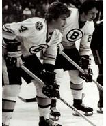 BRAD PARK & BOBBY ORR 8X10 PHOTO BOSTON BRUINS PICTURE HOCKEY NHL - $3.95