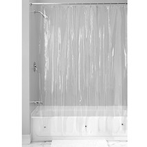 InterDesign Vinyl Shower Curtain, Mold- and Mildew-Resistant Water-Repel... - $18.76