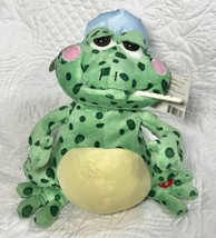 Singing Animated Fever Frog Plush Get Well Soon Gift Cuddle Barn NEW SEE... - $24.99
