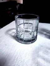 "Anchor Hocking Plaid TARTAN Clear 8 Oz Old Fashioned ""Rocks"" Glasses - S... - $32.66"
