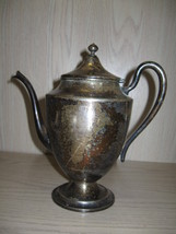 National Silver Co Silver Plate Tea Pot #1001 C... - $19.95