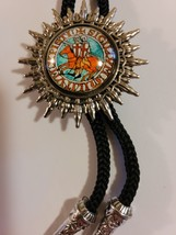 Knights Templar Bolo Necklace Tie Jewelry - Two Knights on Horse image 2